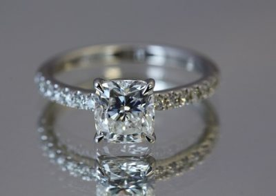 Cushion-Cut-Solitaire-with-Diamond-Band